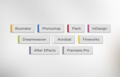 Adobe Series Tags PSD