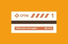 Flat Metro Ticket PSD