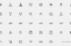 38 Game Icons PSD