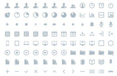 264 Vector Web Icons