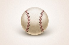 Simple Baseball PSD