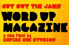 Cut Out The Jams Font