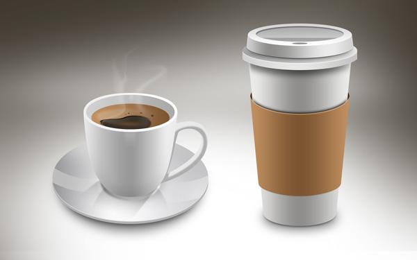 Coffee Cup Mockups PSD