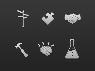 Innovation Icon Set PSD