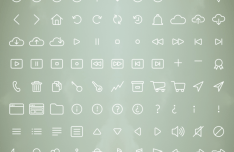 152 Awesome Free Line & Stroke Icons Vector