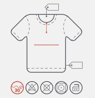 Clean T-shirt Icon PSD