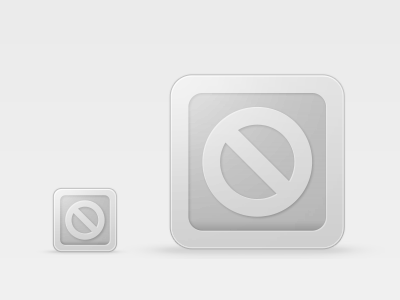 Can Not Be Displayed Icon PSD