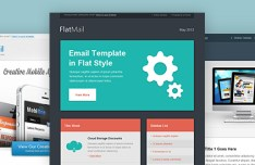3 Newsletter & Email Templates PSD