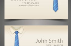Creative Corporate Business Card Design Vector 03
