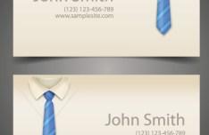 Creative Corporate Business Card Design Vector 03