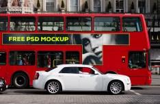 London Bus PSD Mockup