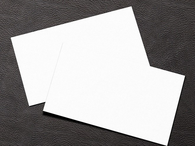 Free simple white blank business card mockup psd titanui simple white blank business card mockup psd reheart Gallery