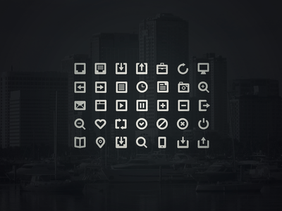 35 Mail App Icons PSD