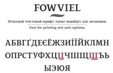 Fowviel Font