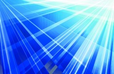 Blue Abstract Lines Vector Background 01