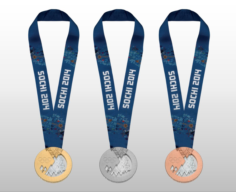 Olympic Winter Games Medals from Chamonix 1924 to