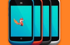 ZTE Open with Firefox OS