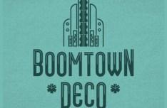 Boomtown Deco Font