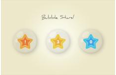 Bubble Stars PSD