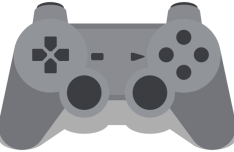 Playstation Gamepad Vector PSD