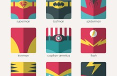 Fashion-Flat-Superhero-Icons-Vector