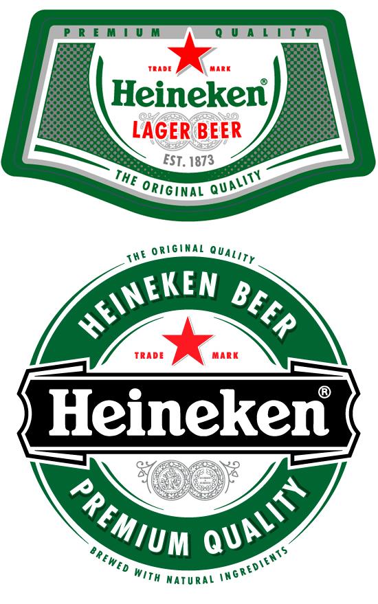 free heineken beer logo vector