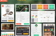 Online Store UI Kit PSD