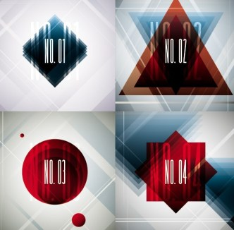 Creative Abstract Numbers Vector