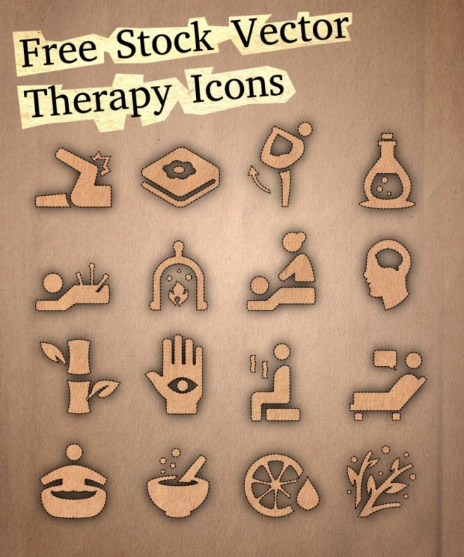 Stock Therapy Icons SVG