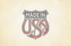 Made In USA Trade Emblem Vector