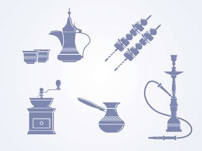 Coffeehouse Icons