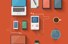 Flat Devices Vector Designs