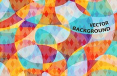 Colorful Abstract Background Pattern Vector