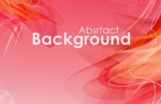 Bending Light Lines Background Vector 02