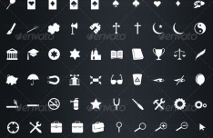 475 Vector Icons & Symbols For Interface App