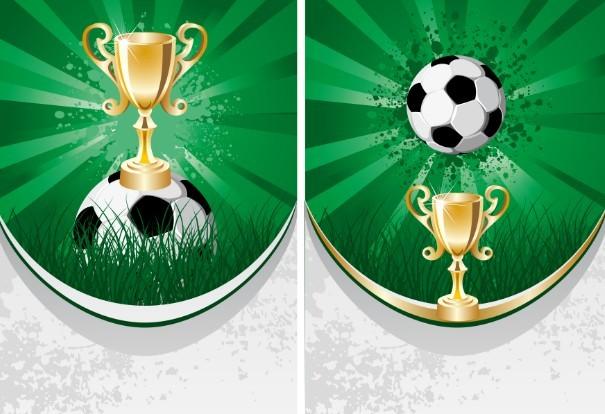 Soccer Poster Template Vector