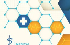 Creative Medical Care Background Vector
