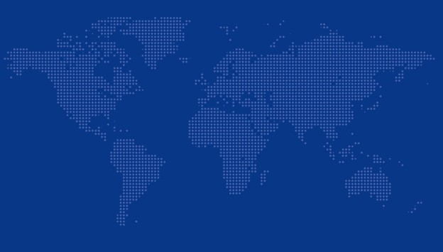 Dotted World Map Vector 02