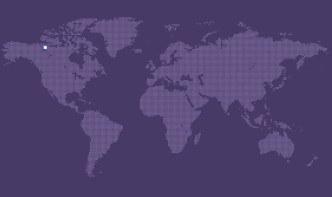 Dotted World Map Vector 03