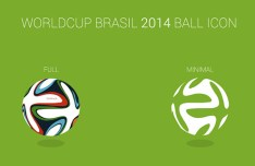 2014 FIFA World Cup Brazil Soccer Ball Icon