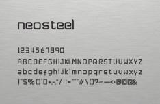 Neosteel Modern Font