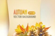 Hello Autumn Vector