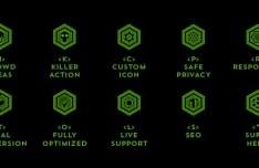 Hexagon Icon Set
