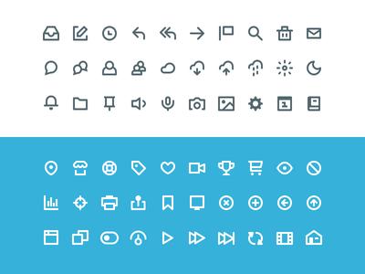 60 Mini Web Icons