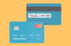 Flat Credit Cards Vector