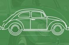 Classic Volkswagen Beetles Vector