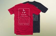 Dark and Red T-shirt Mockups PSD