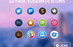 Yosemite Icon Set ICNS