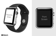 Apple Watch Template PSD