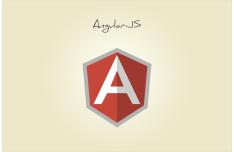 AngularJS Flat Icon Vector